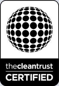 b & w cleantrust logo